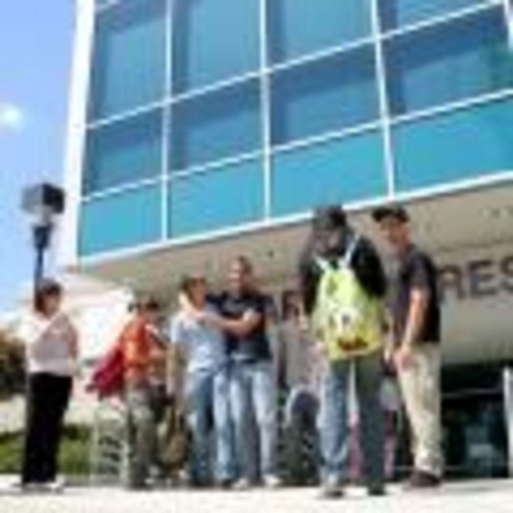 студенты лагеря FLS в Citrus College