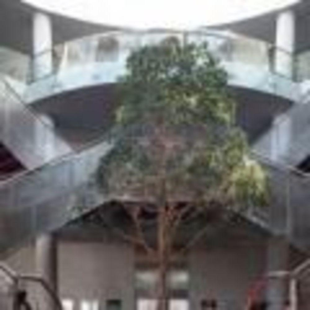 Лестница в основновном здании Dublin City University