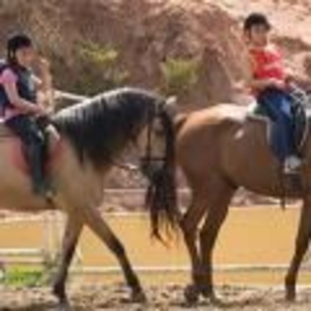 верховая езда в лагере Salamanca, Enfocamp