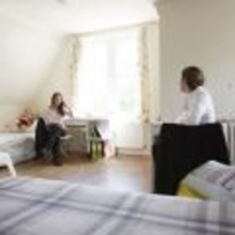 дети в комнате резиденции школы Earlscliffe College