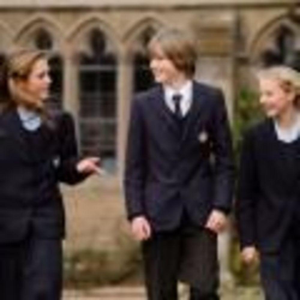 дети в школе Glenalmond College