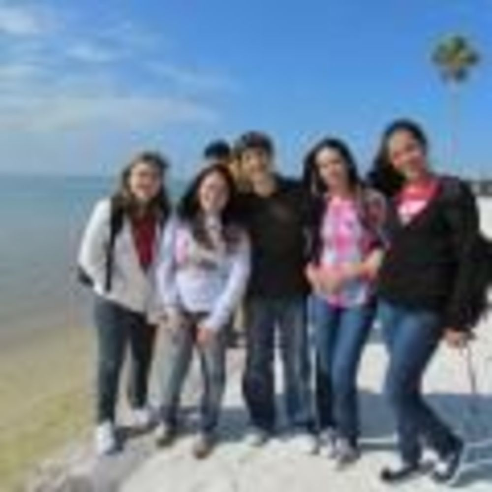 ELS Eckerd College студенты на пляже