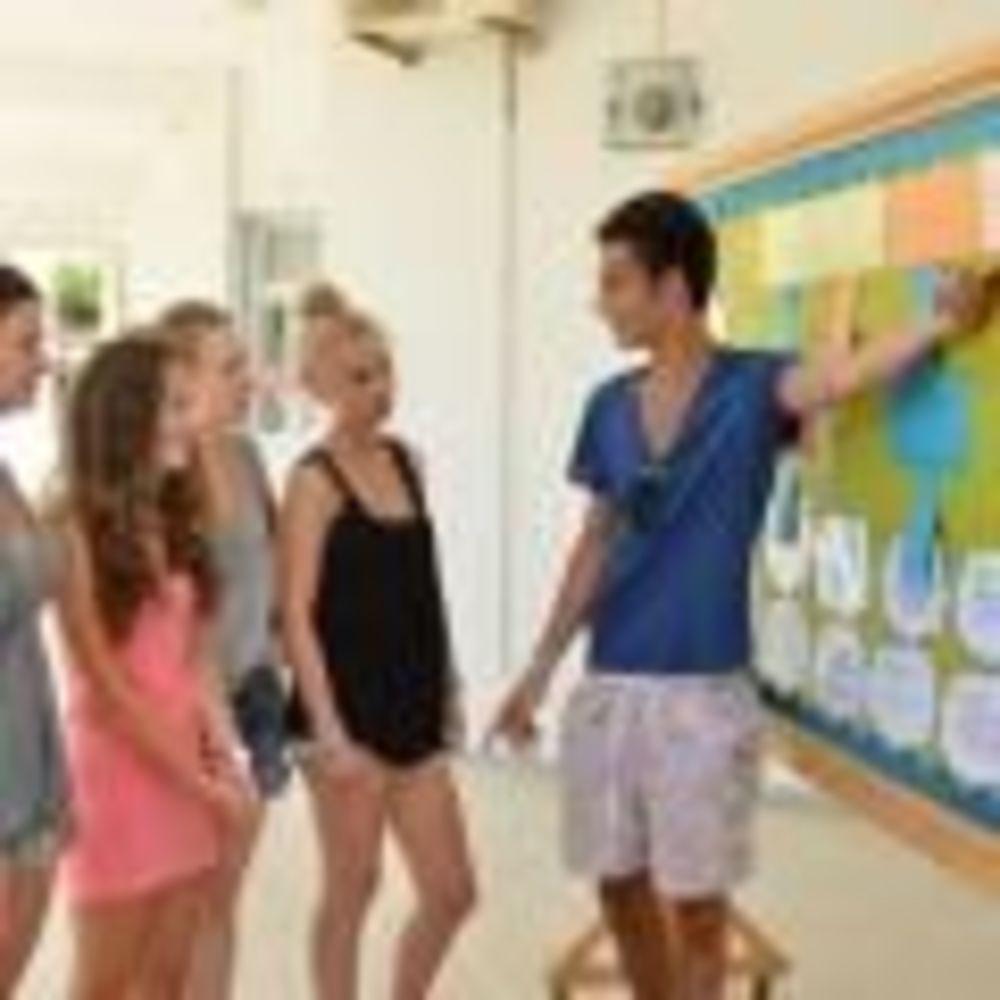 English in Cyprus дети в школе