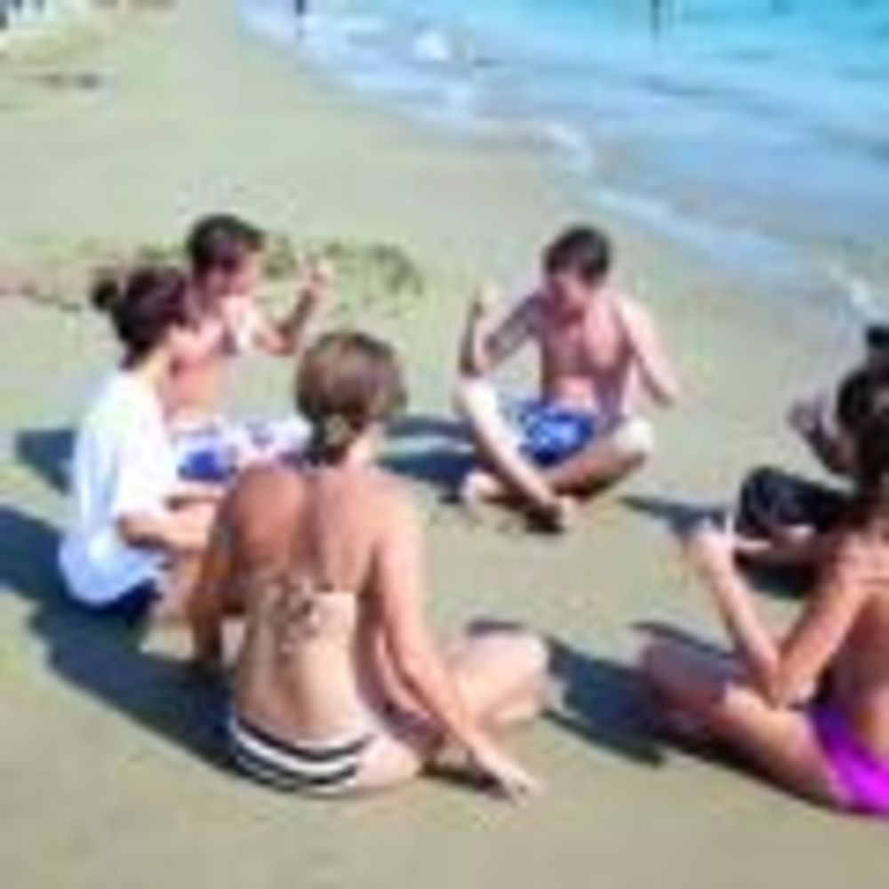 English in Cyprus пляж