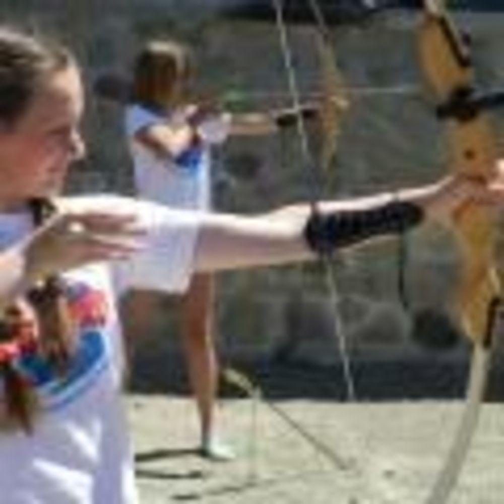 English Quest Camp стрельба из лука