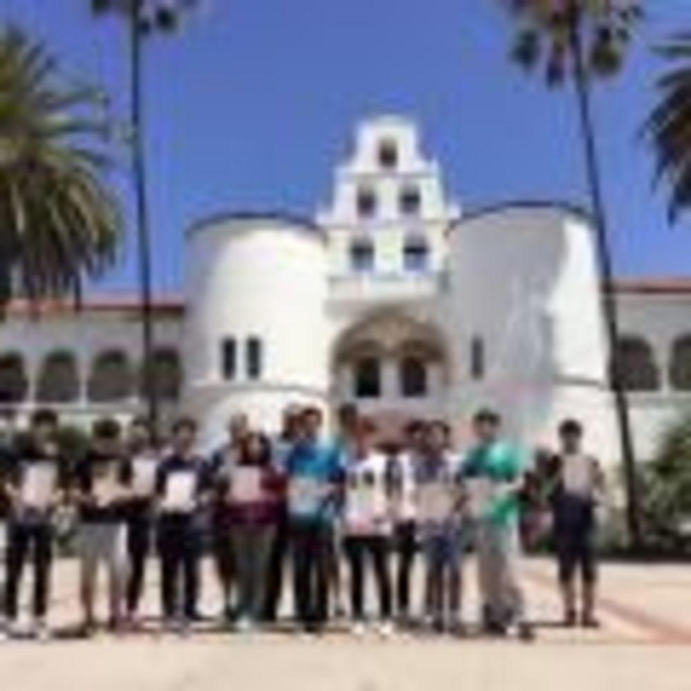 San Diego State University Eurocentres дети в лагере