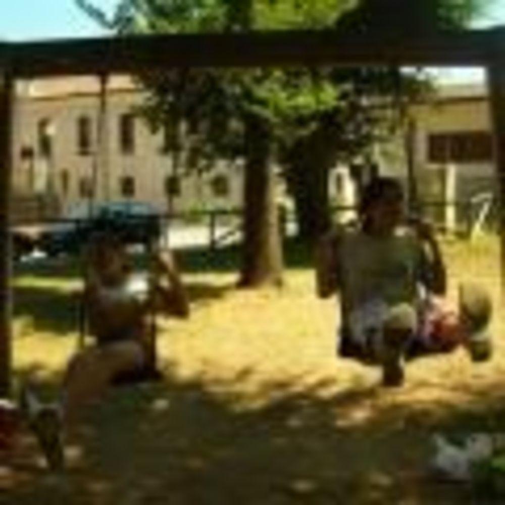 """дети на игровой площадке MB International Summer Camp Lignano - компания """"Аспект"""""""