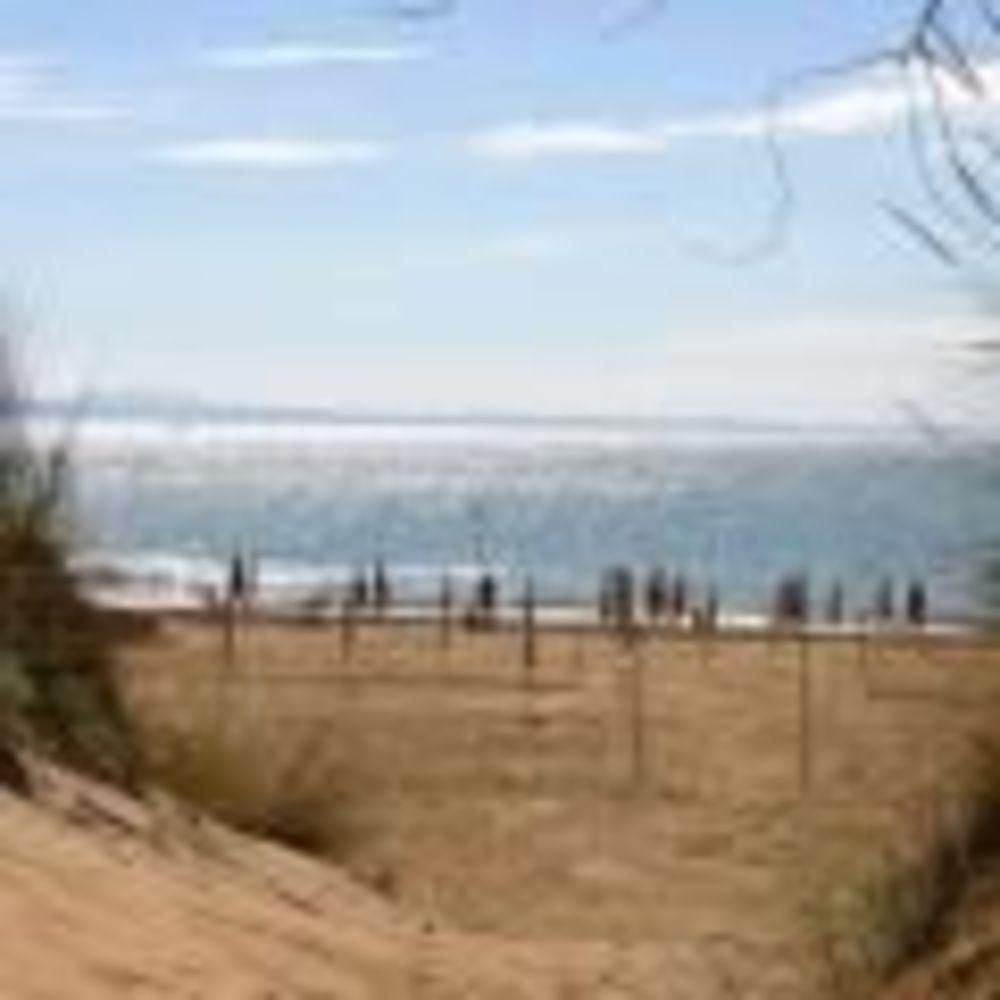 """пляж в лагере MB International Summer Camp Lignano - компания """"Аспект"""""""