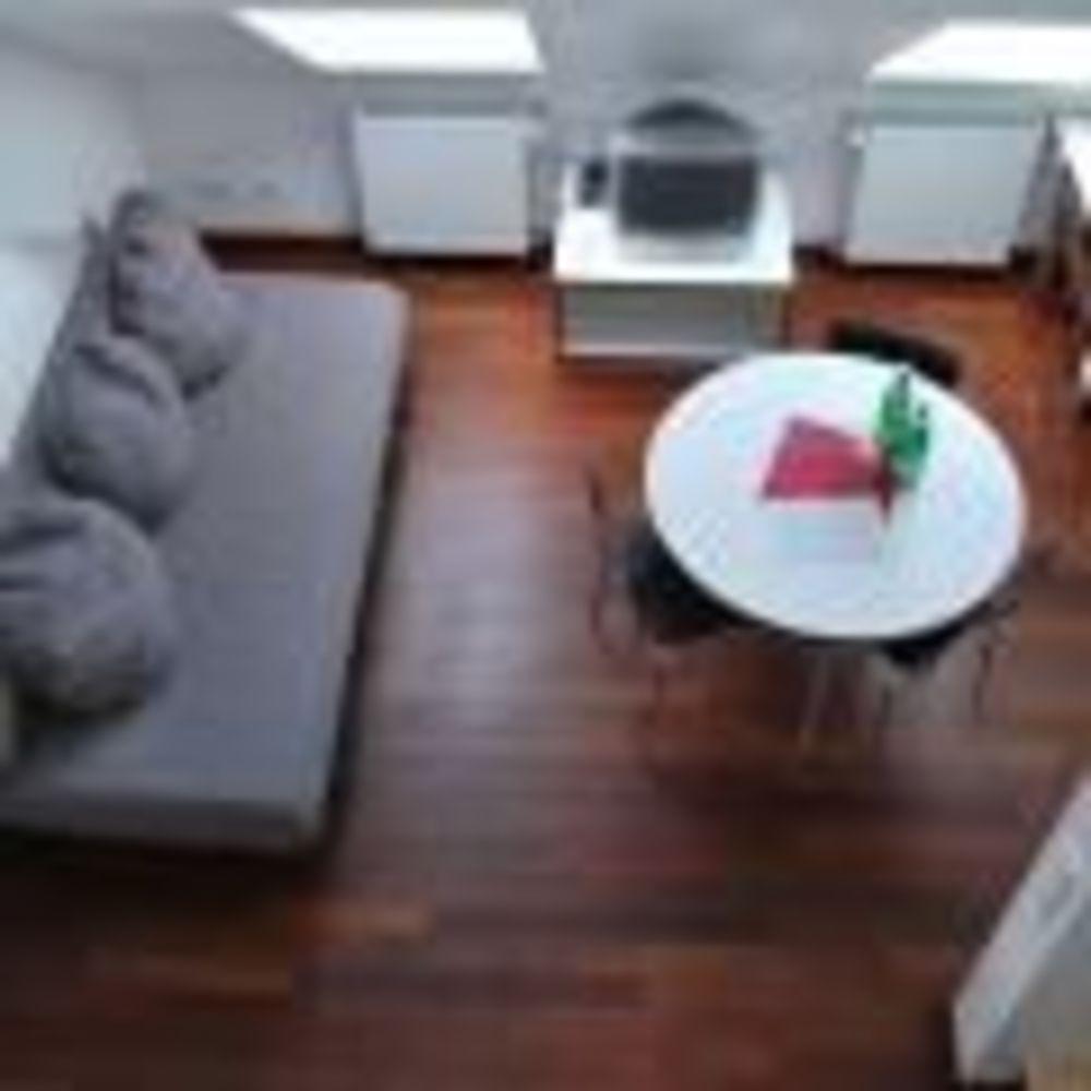 гостиная в апартаментах GLS Berlin