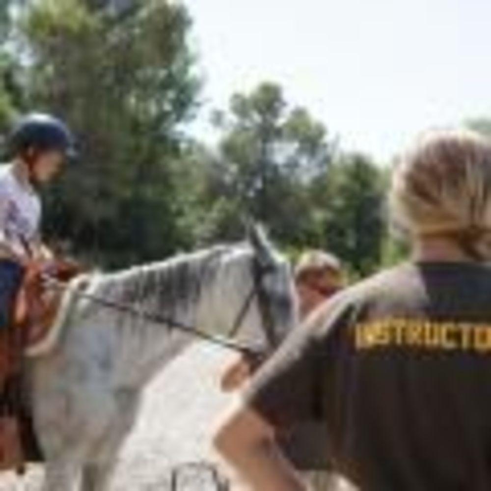 Alphabet International Camps, прогулка на лошадях