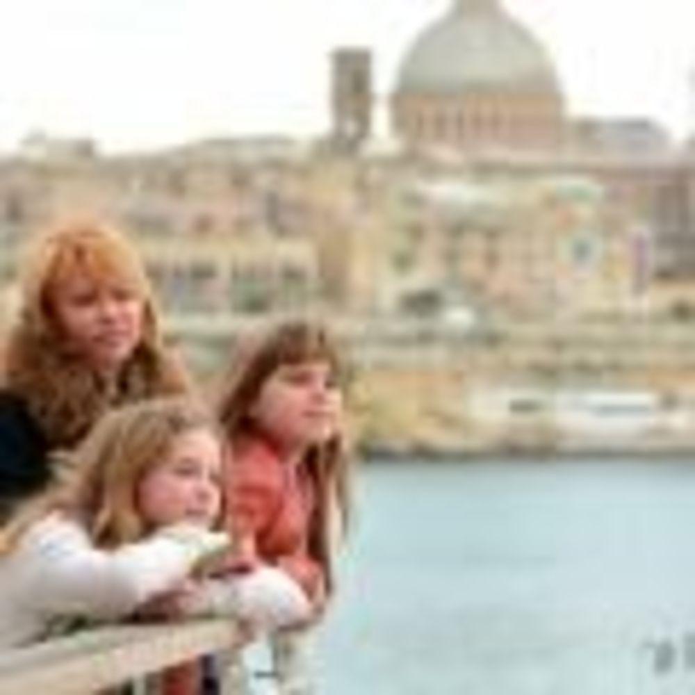 Inlingua Malta студенты на море