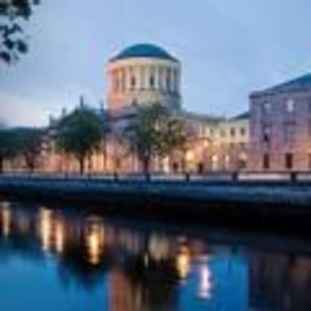 Вечерний Дублин