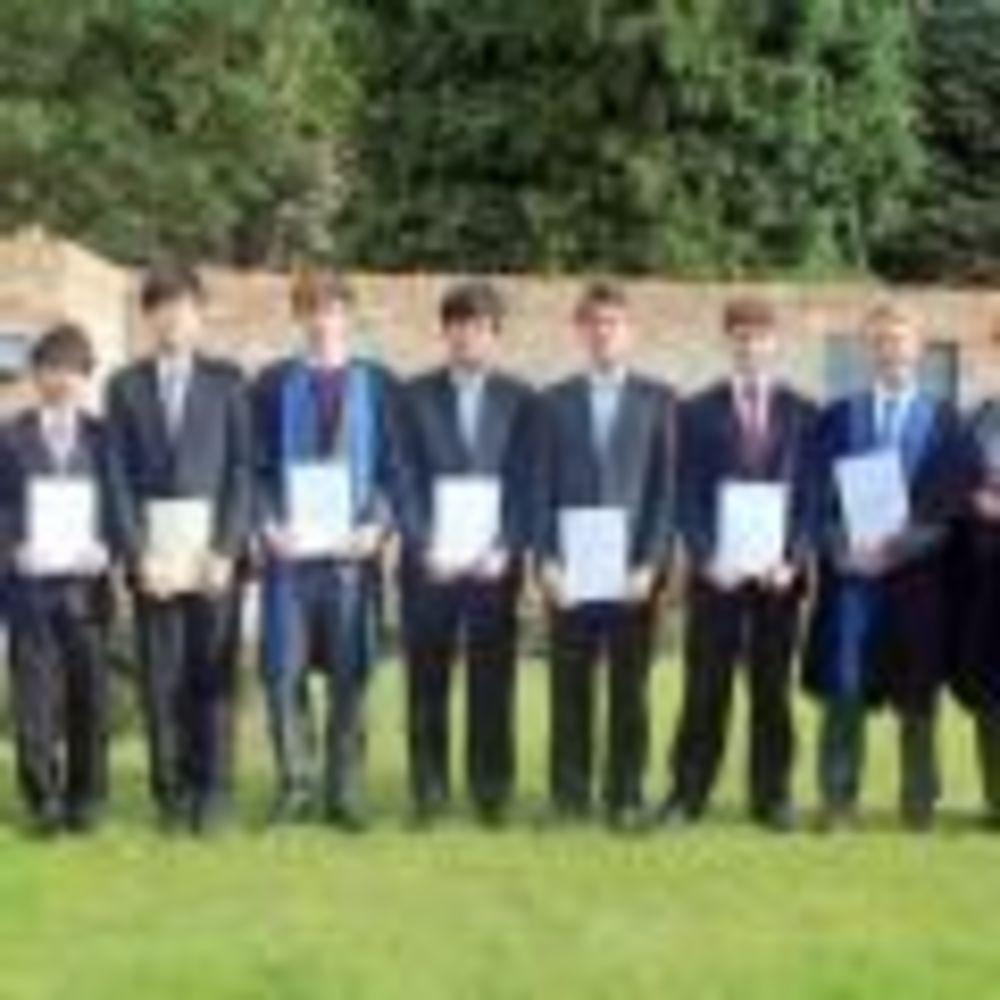 ученики школы King's Ely
