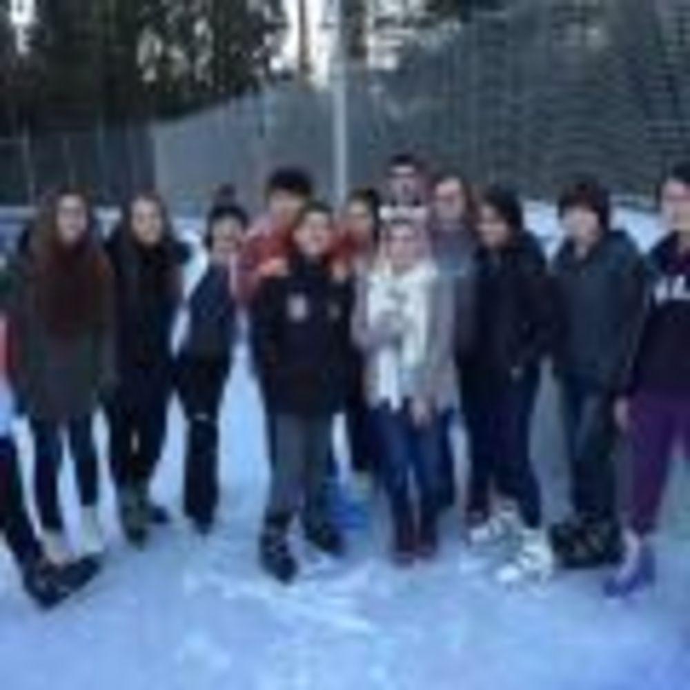 зимние развлечения в лагере Lindenberg, Humboldt – Institut