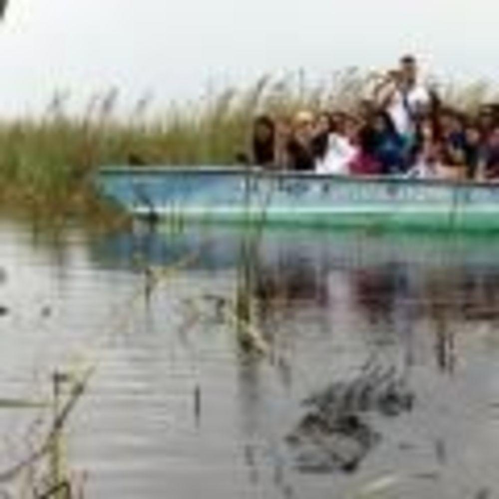 прогулка по реке в лагере LAL Boca Raton