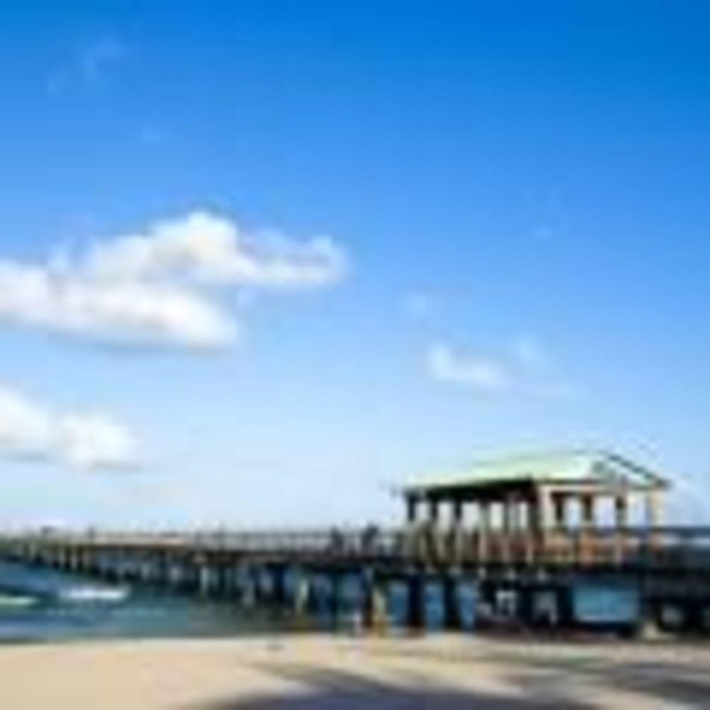 городкой пляж рядом со школой LAL Fort Lauderdale