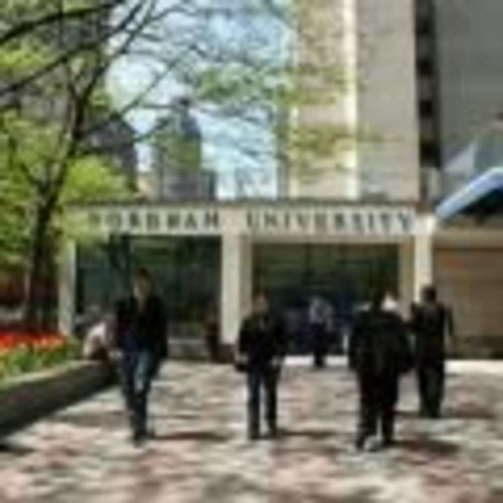 лагерь LAL вид на Fordham University, Rose Hill