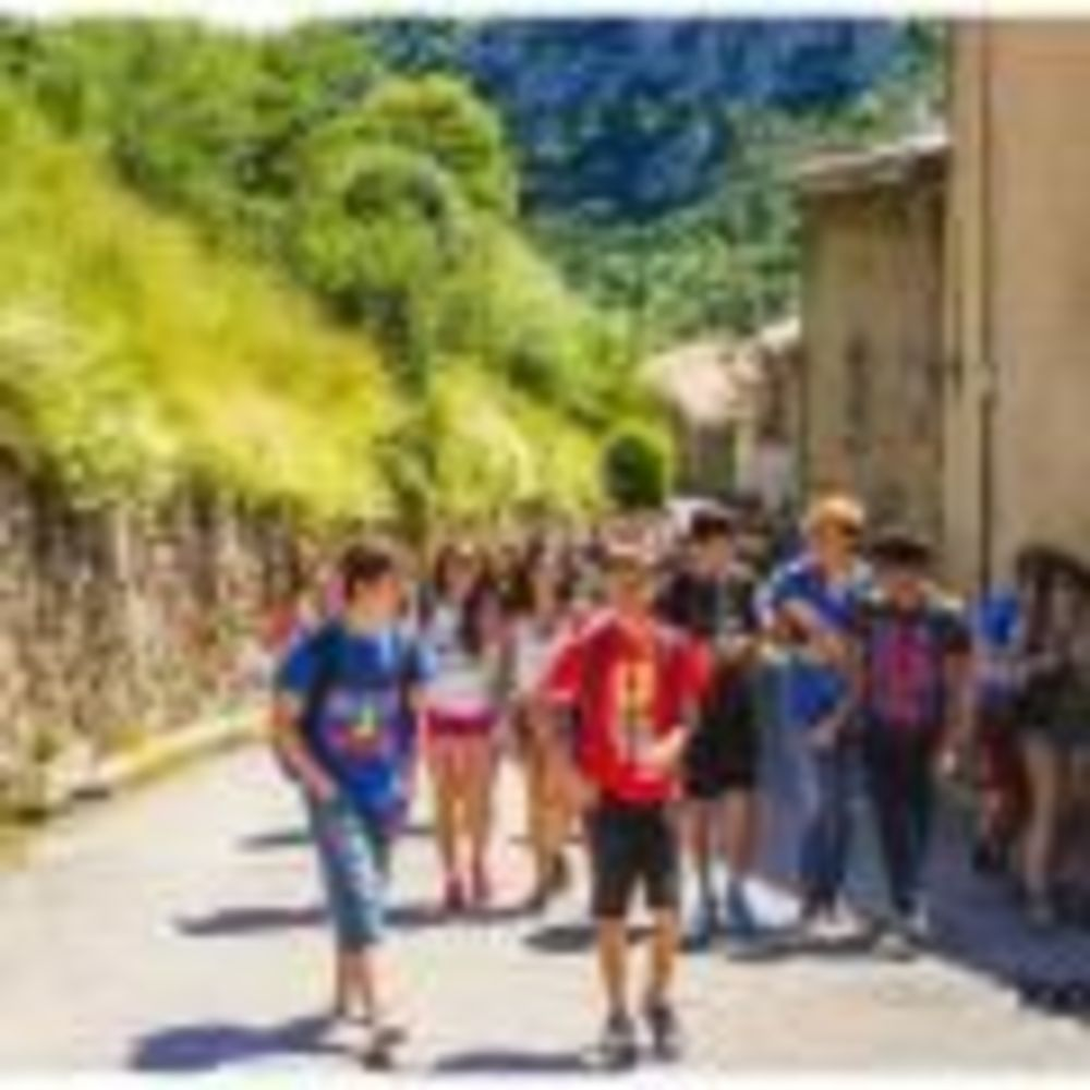 дети на прогулке Langue Onze Toulouse