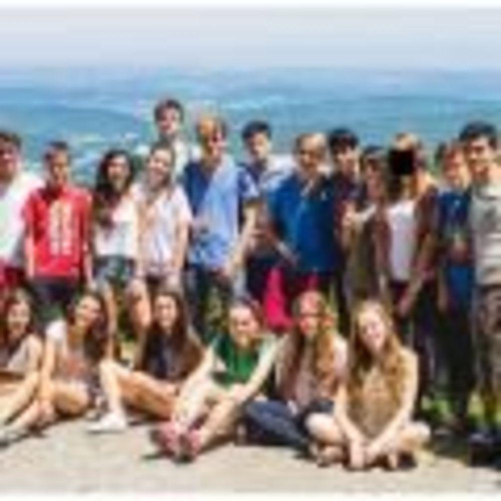общее фото участников лагеря Langue Onze Toulouse
