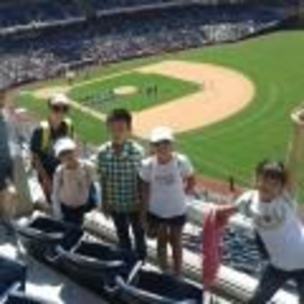 LSI San Francisco - Berkley дети на бейсболе