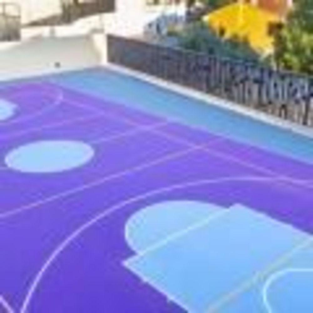 спортивная площадка в лагере Colegio Unamuno (Malaga), Enfocamp