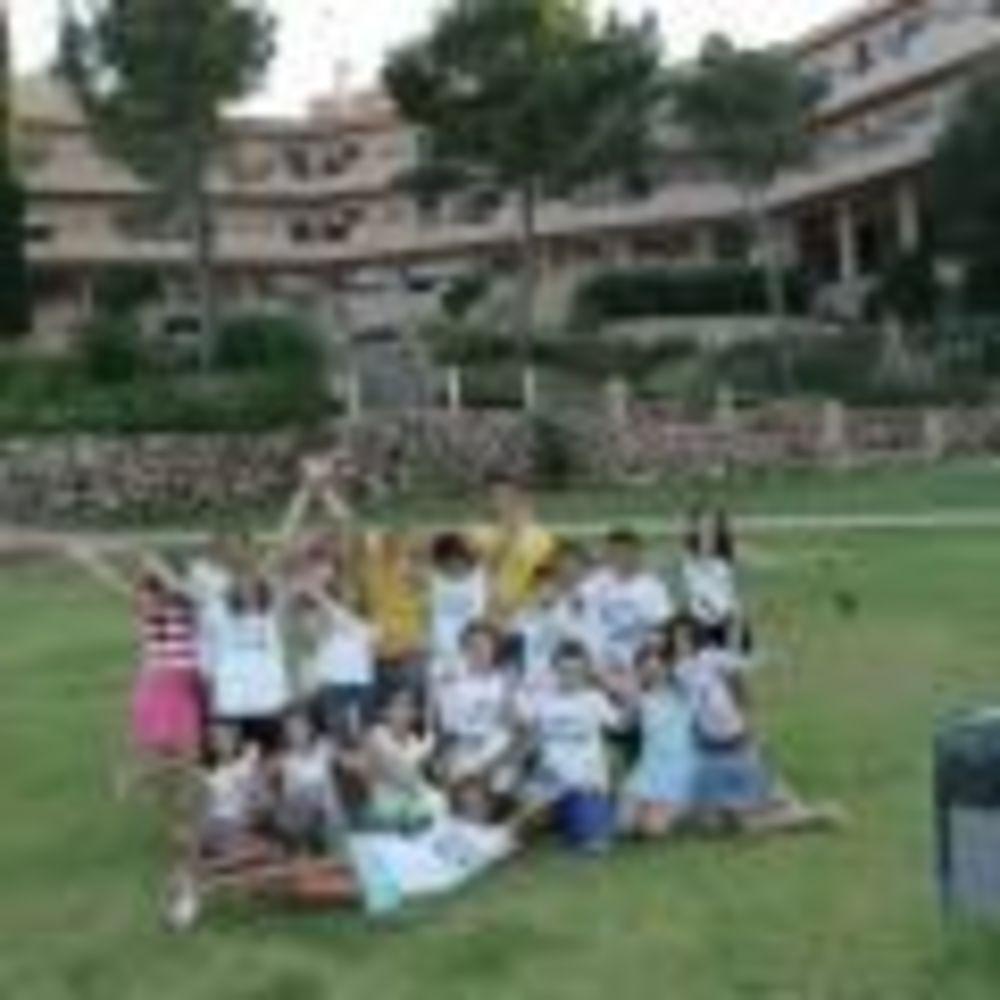 дети в лагере Marbella Aleman, Enfocamp