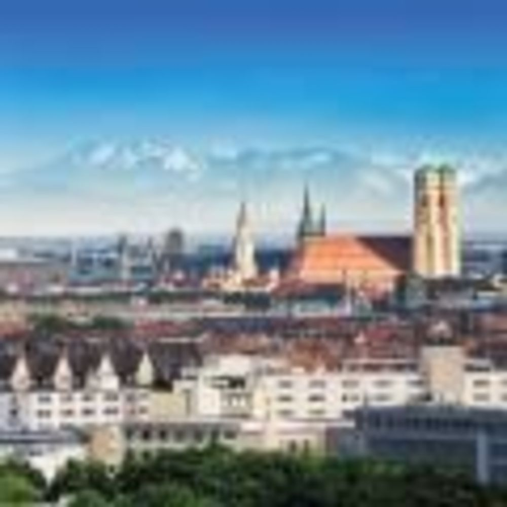 German Language School, вид на Мюнхен