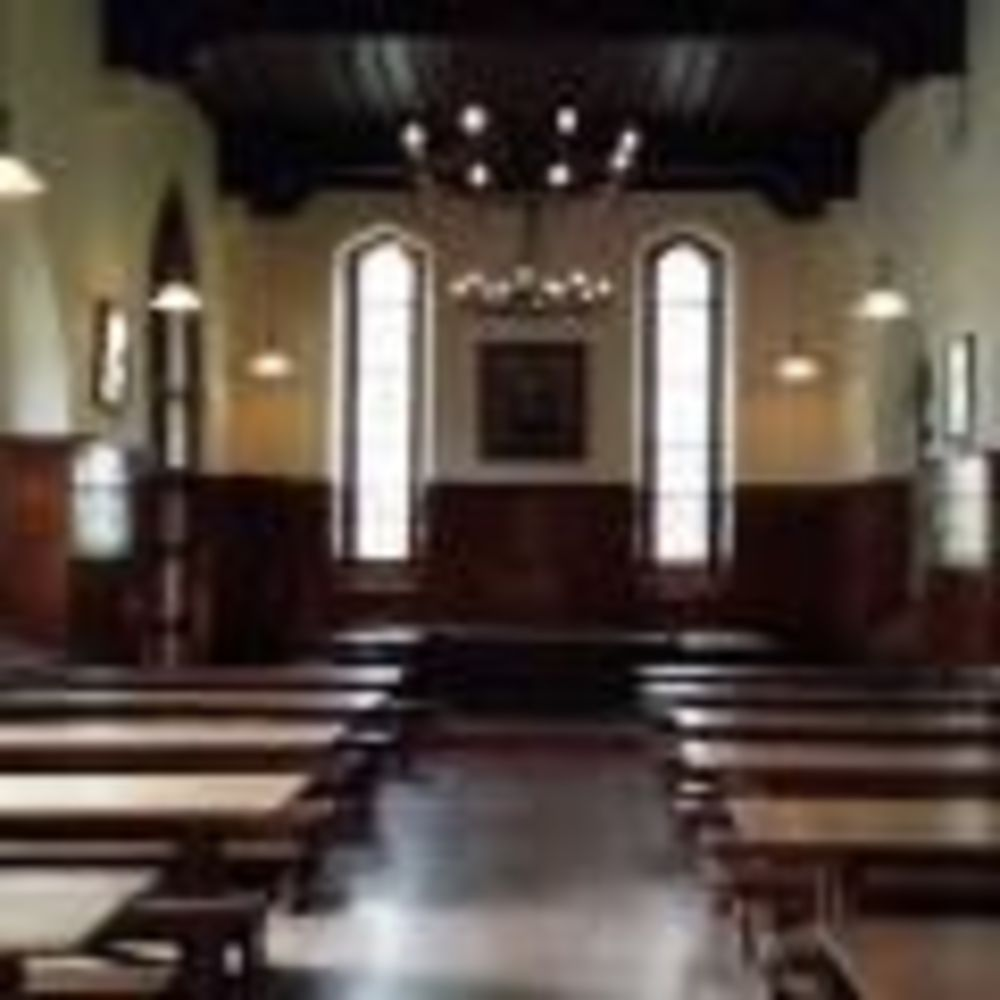 Обеденный зал St Columba's College