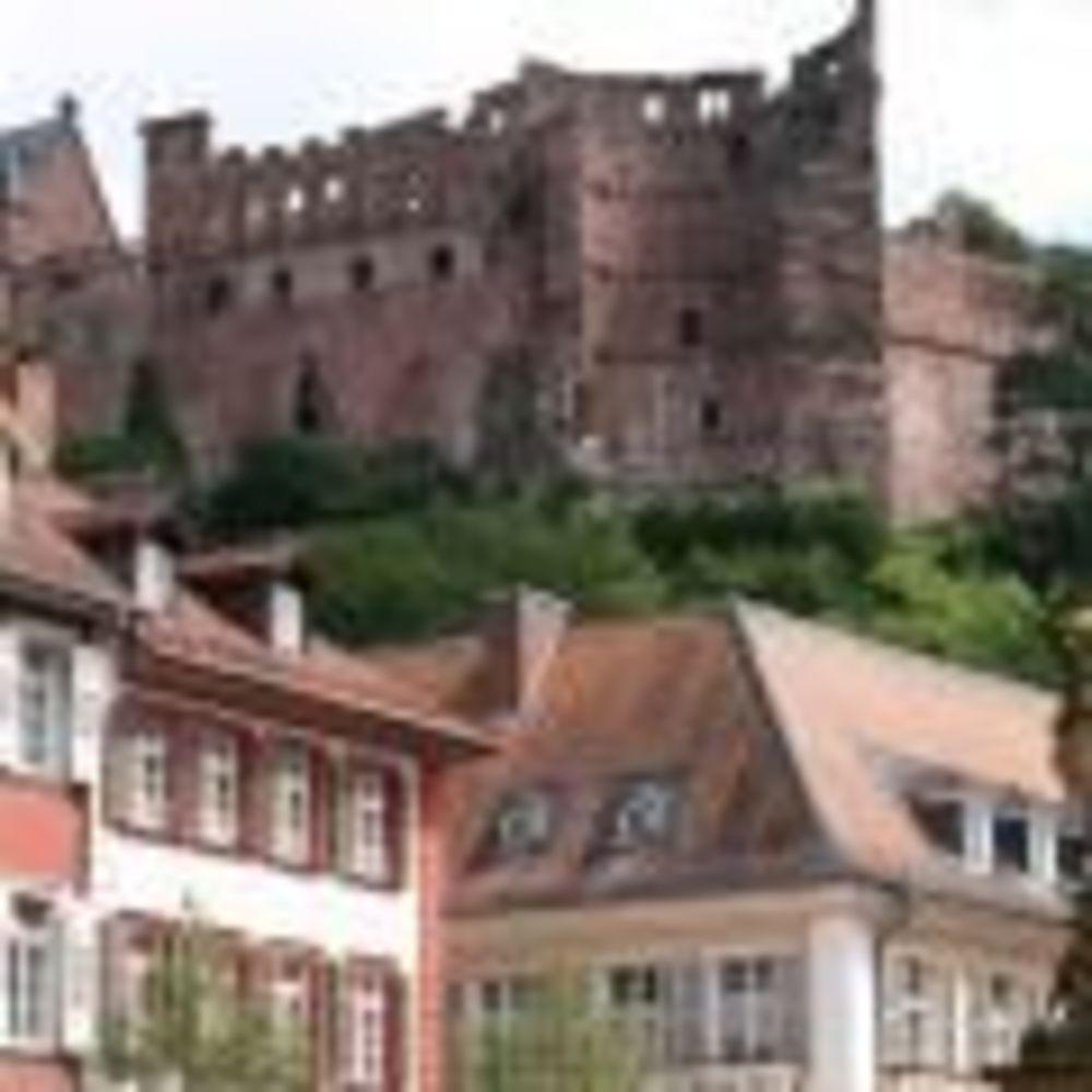 OISE Heidelberg прогулка по городу