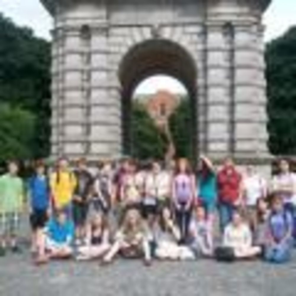 прогулка в лагере Trinity College Summer Camp