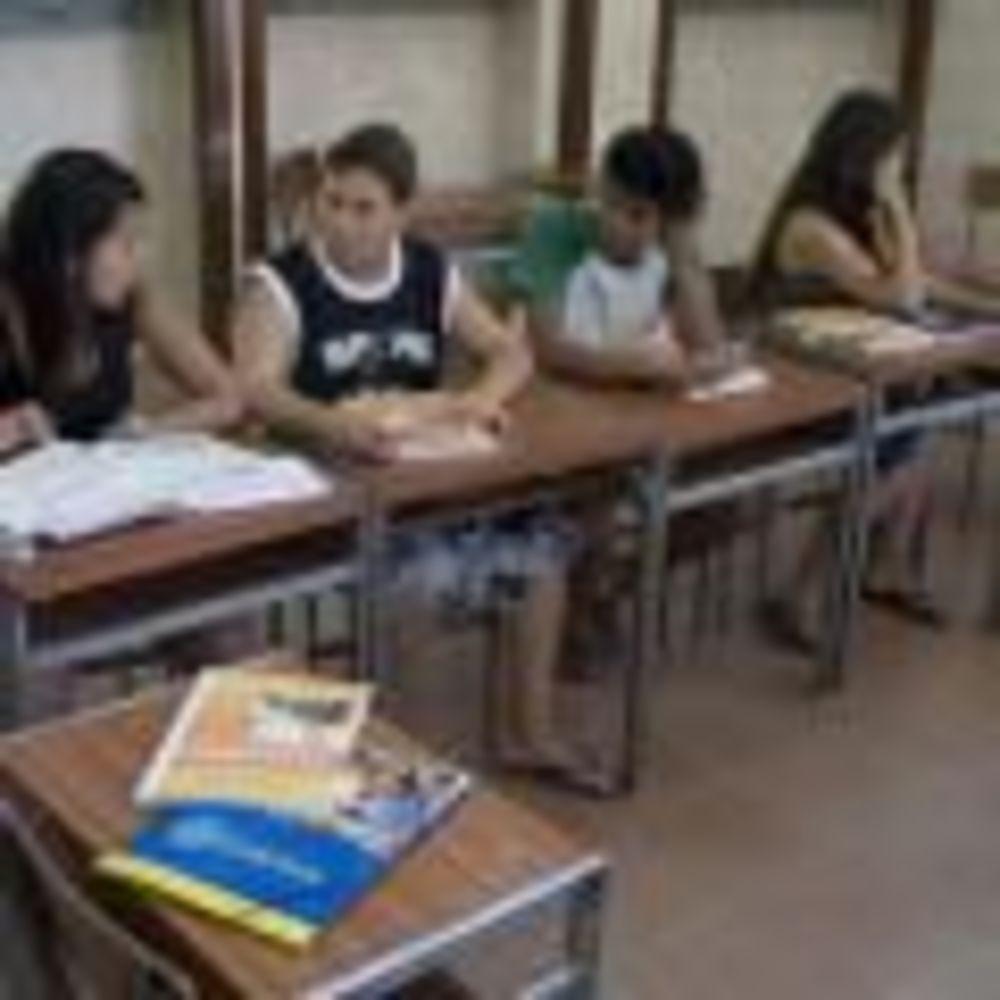 участники лагеря на занятиях Salamanca, Enfocamp