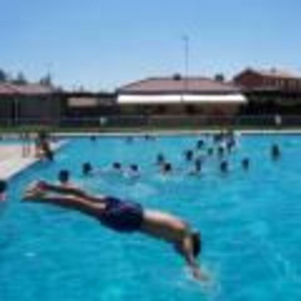 бассейн в лагере Salamanca, Enfocamp
