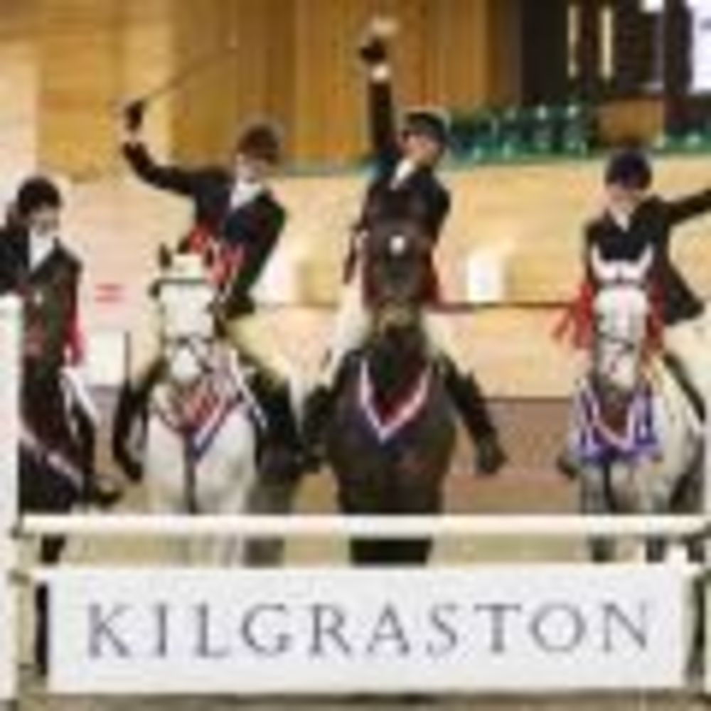 соревнования по верховой езде в Kilgraston School