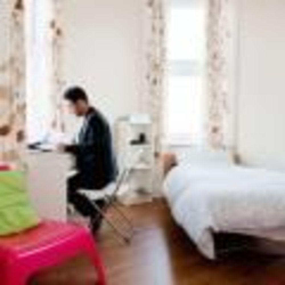 спальня в резиденции Earlscliffe College