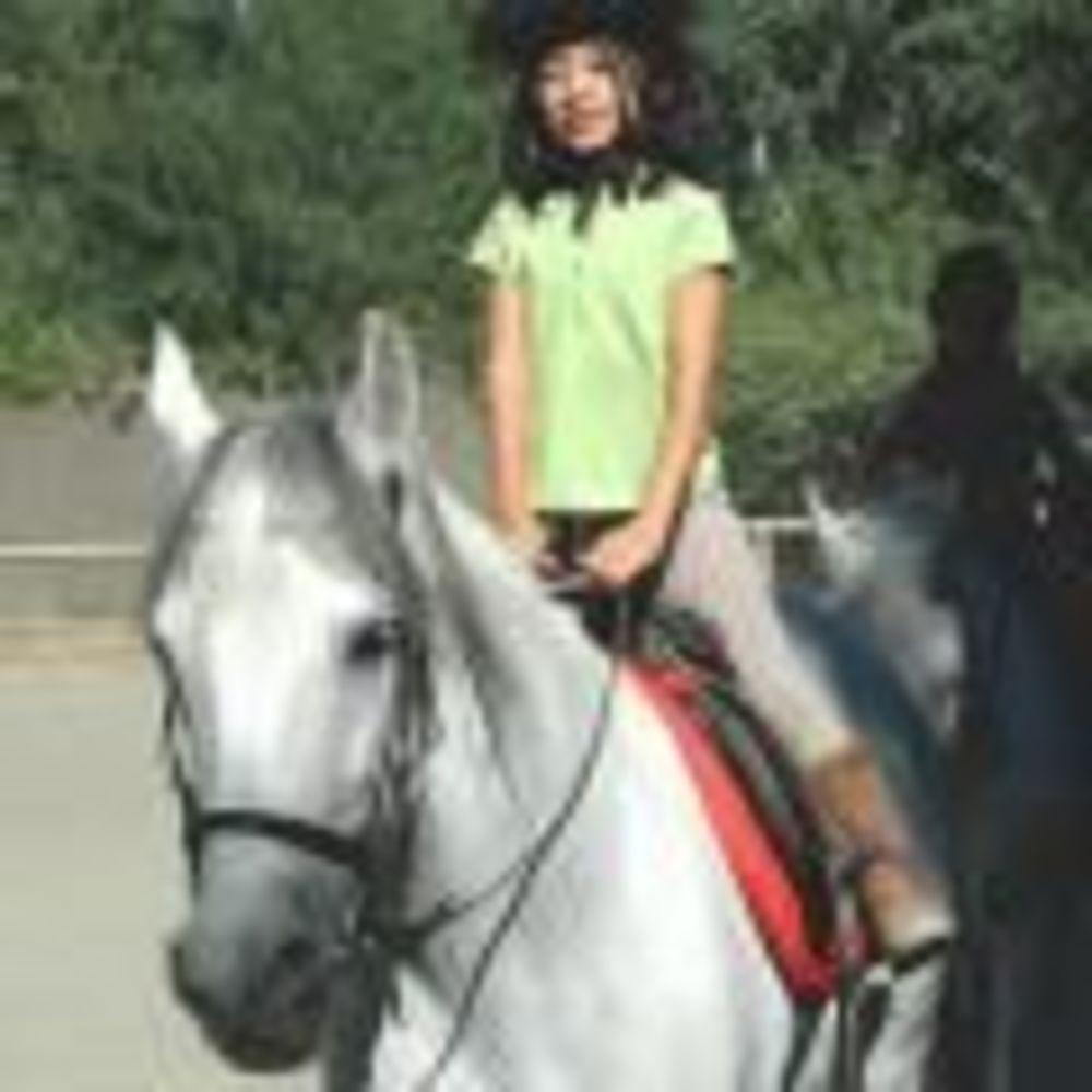 верховая езда в лагере King's College, The British School of Madrid