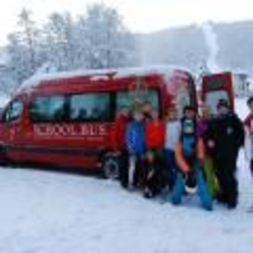 зимняя экскурсия для учеников школы St. Gilgen International