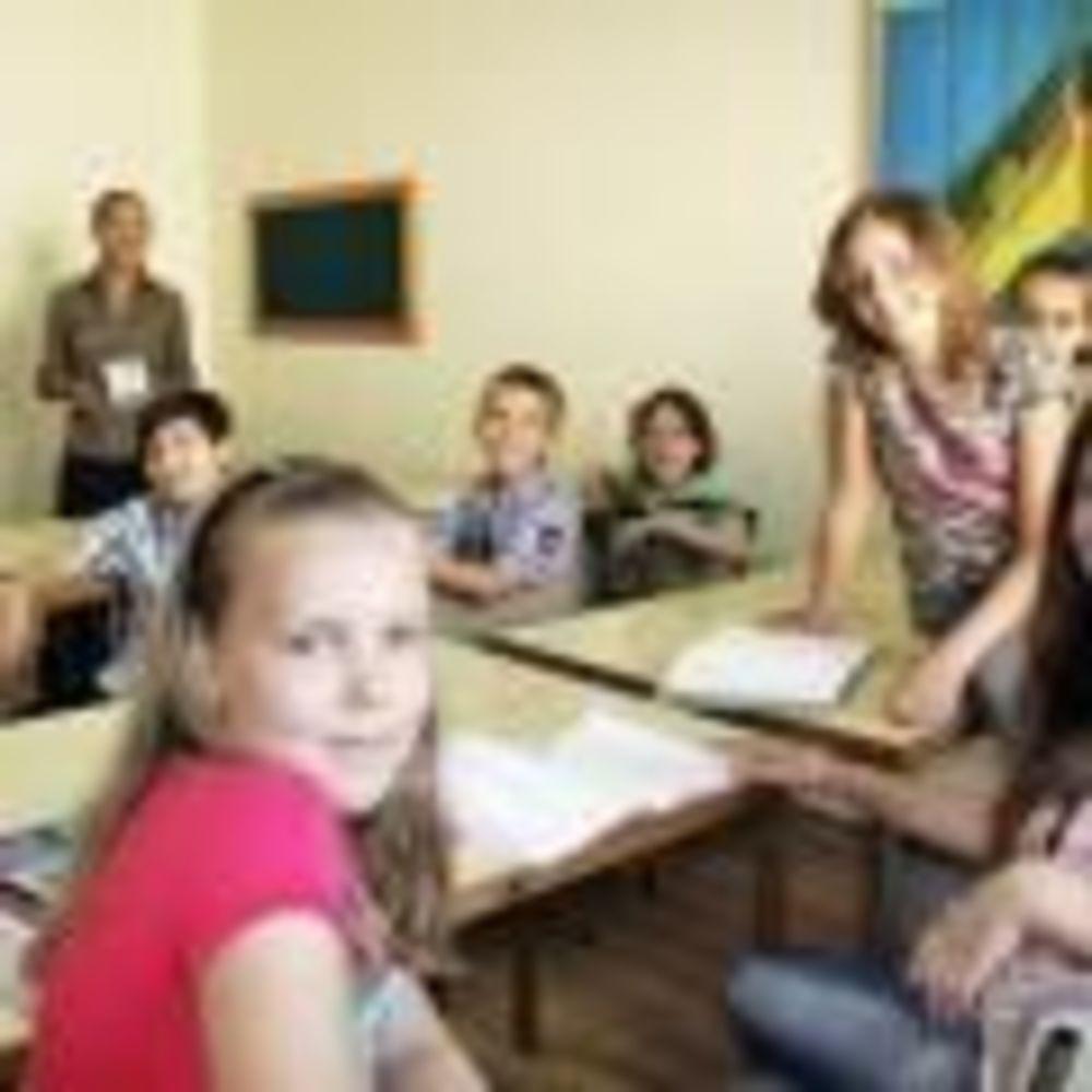 дети в классах LAL на Мальте