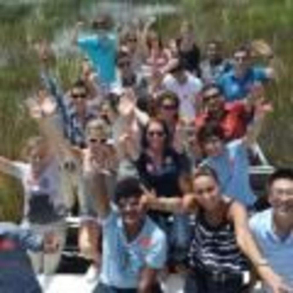 TALK English School Fort Lauderdale студенты на экскурсии