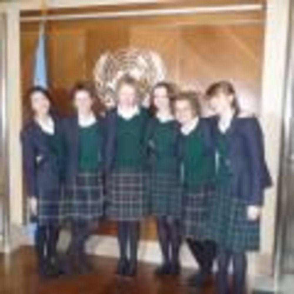 ученицы школы Kilgraston School