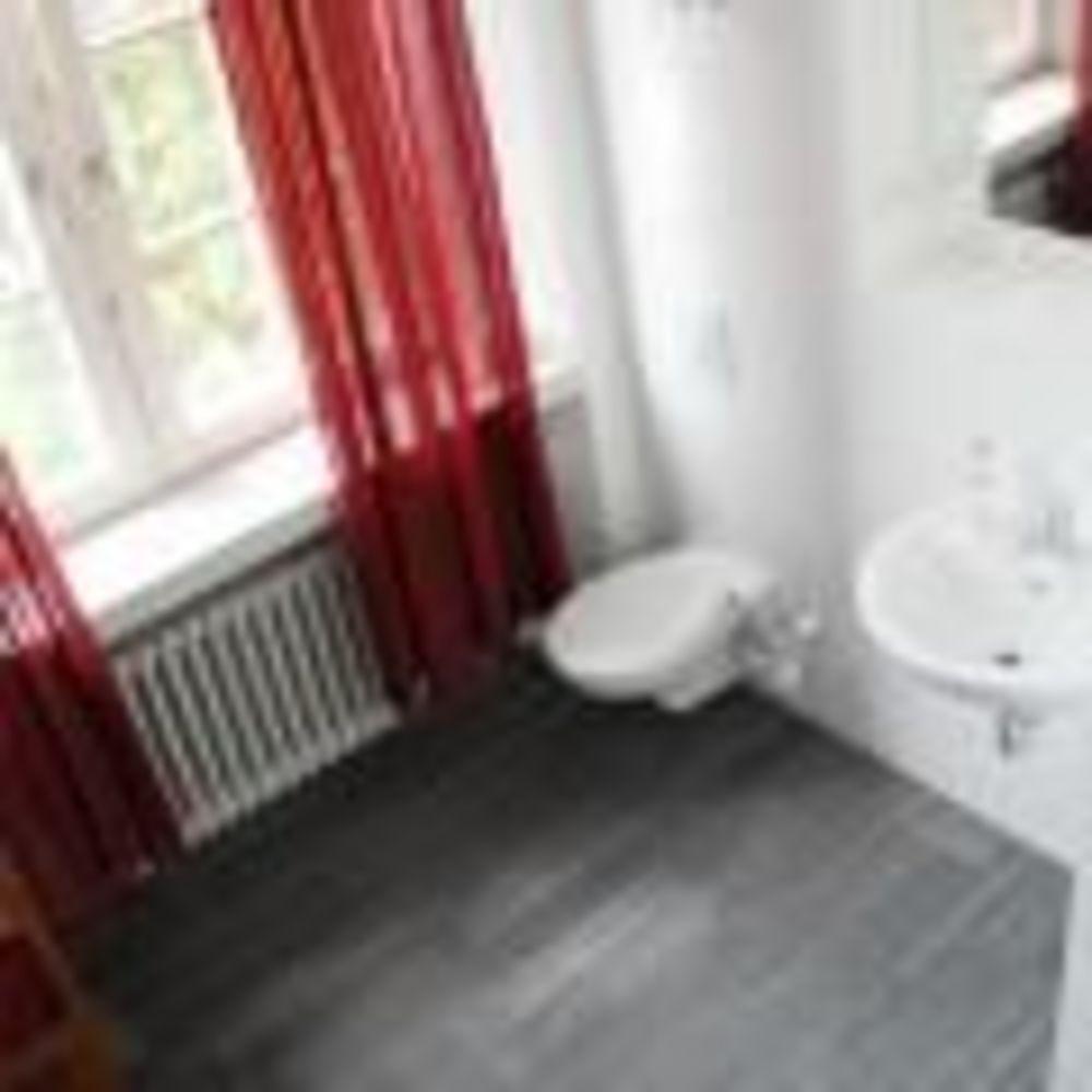 ванная в апартаментах GLS Berlin