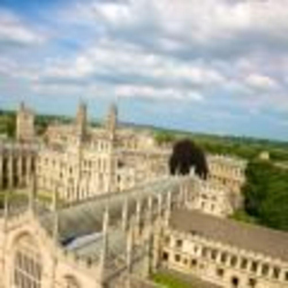 Вид Kings Summer Oxford
