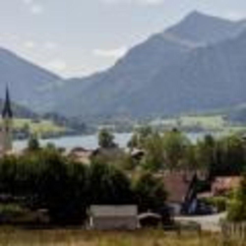 German Language School, вид на озеро