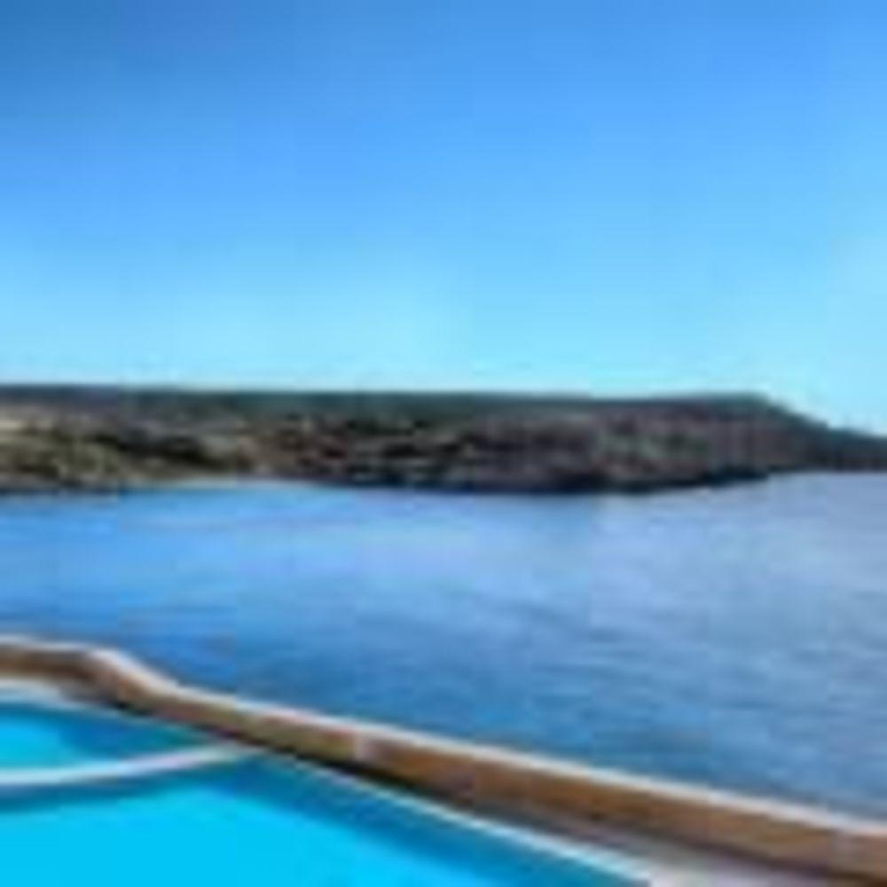 вид із вікна готеля Clubclass Mellieha, Paradise Bay Hotel