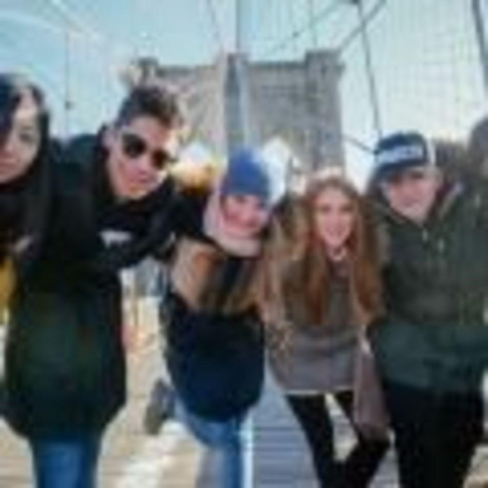 студенты Rennert New York School прогулка по городу